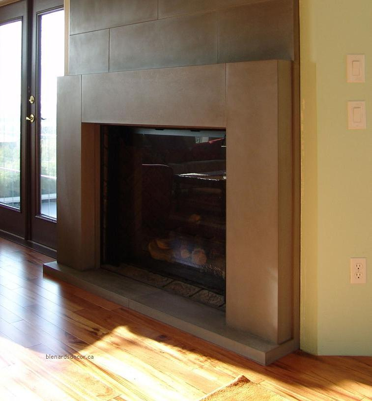 contemporary fireplace mantels and surrounds submited images