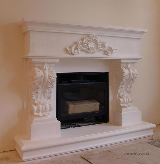 fireplace mantel 14 3 cast stone