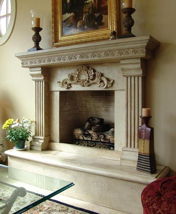 Fireplace Mantels Surrounds In Vancouver BC By Blenard 39 S Decor Limeston