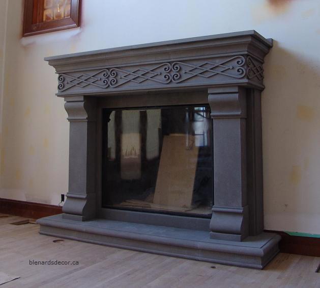 Fireplace Mantel 20 Cast Concrete